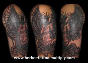 black and grey tattoo by miss gel female tattoo artist quezon city free classifieds in. Black Bedroom Furniture Sets. Home Design Ideas