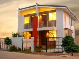 Duplex model houses in the philippines