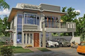 For Sale Brand New 2 Storey Modern Design Residence