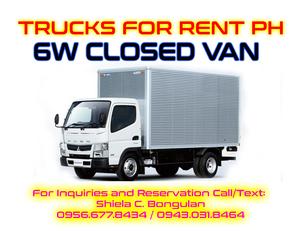 Rent A Cargo Van >> 6 Wheeler Closed Van Truck - Parañaque - free classifieds in Philippines