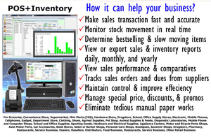Inventory Management System with POS - Baguio City - free